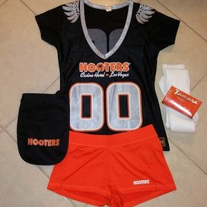 Hooters football Jersey uniform set M/L 🏈